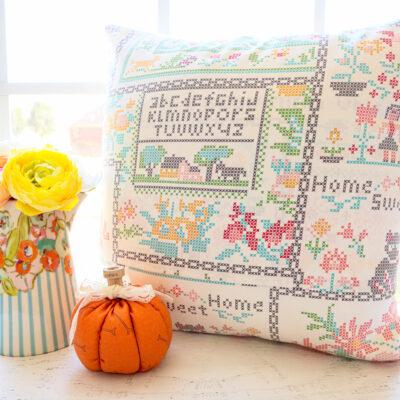 Fall Pumpkin Pillow Sew Along – Week 3