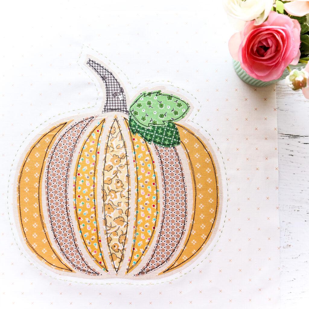 Fall Pumpkin Pillow Sew Along - Week 2