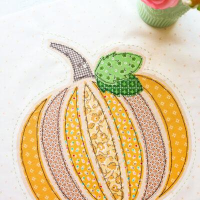 Fall Pumpkin Pillow Sew Along – Week 2
