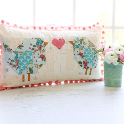 Follow the Love Birds Pillow