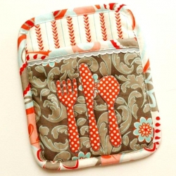 Let's Eat - Potholder